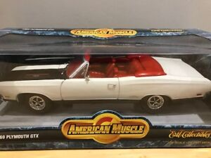 VENDU SOLD  1/18 Diecast ERTL American Muscle 1969 Plymouth GTX