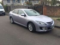 Mazda 6 diesel 2008. Low milage. Touch screen computer. Silver lilac. Leather.6 gear. Sport