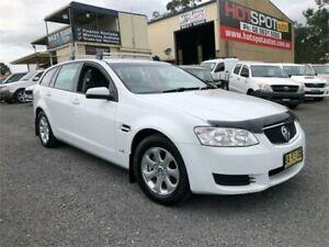 2010 Holden Commodore VE II Omega White Sports Automatic Wagon