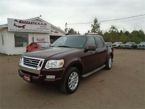 2007 EXPLORER SPORT TRAC LIMITED!!LEATHER!!