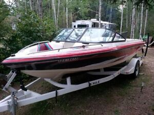 BOAT WITH A LOT OF EXTRA'S FOR SALE IN EXCELLENT CONDITION