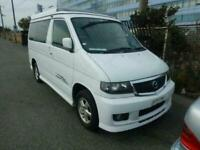 2002 Mazda Bongo FACE LIFT Free Top electric roof camper 4 door MPV for sale  York, North Yorkshire