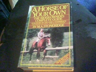 A Horse Of Your Own By M A  Stoneridge  E16