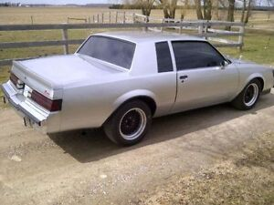 Buick regal, T Type, Grand National wanted