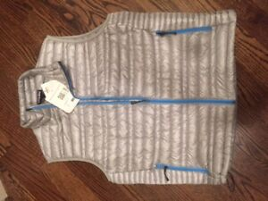 Men's L Patagonia ultralight down vest. Brand new, with tags.