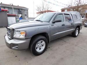 2009 DODGE DAKOTA SXT (4X4, V8, 94,000 KM, FULL, IMPÉCCABLE!!!)