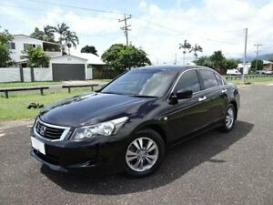2010 Honda Accord 50 MY10 VTi Black 5 Speed Automatic Sedan Bungalow Cairns City Preview