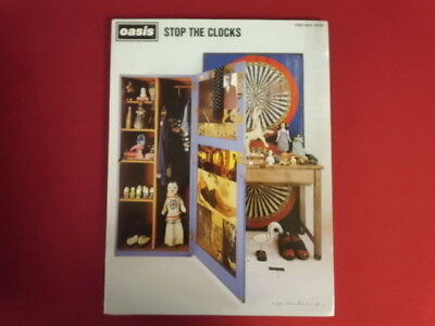 Oasis - Stop The Clocks . Songbook Notenbuch Piano Vocal Guitar PVG