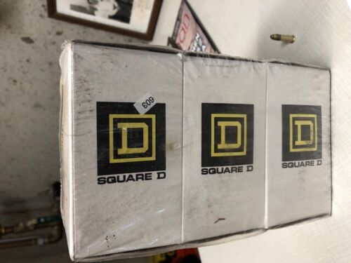 Square D Class 2510 type KG2 Motor Starting Switch 3-Pack