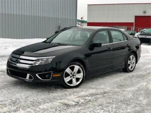 2010 FORD FUSION SPORT AWD 141,000KM CUIR / TOIT / CAMERA / MAGS