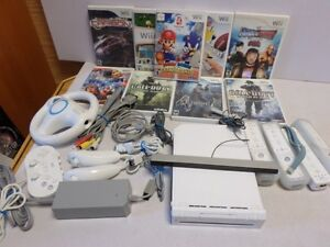 Complete Wii System & Games, Vintage Donkey Kong POKEMON Game