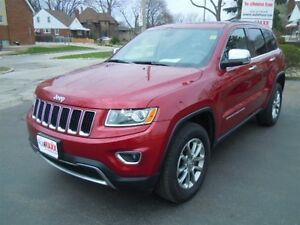 2015 JEEP GRAND CHEROKEE LIMITED - NAVIGATION SYSTEM, LEATHER HE