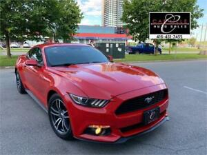 2015 FORD MUSTANG LEATHER NAVI CAM BLNSPT NO ACIDENT WARANTY 4CY