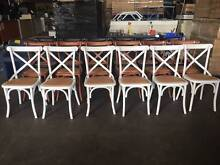 French Provincial / Cross Back Dining Chairs Smithfield Parramatta Area Preview