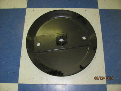 New Stump Jumper Flywheel Blade Pan Round Blade Bolt Holes -12 Splined Hub 40