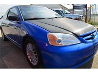 2001 Honda Civic Sporty Coupe with TONS of nice upgrades  CHEAP!