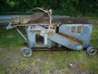 Liner Saw Bench Diesel Engine Logs Firewood Timber