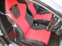 honda civic type r premier edition black recaro seats same owner since 2006 bmw toyota ford vauxhall