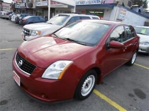 2009 Nissan Sentra  Auto No Accident  Red Only 117,000km