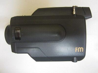 Radio Radiogerät Portable im Camcorderlook Batteriebetrieb unbenutzt OVP