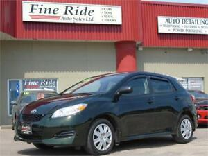 2013 Toyota Matrix **ONLY 46,000kms!/BLUETOOTH**