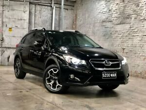 2013 Subaru XV G4X MY14 2.0i-S Lineartronic AWD Black 6 Speed Constant Variable Wagon Mile End South West Torrens Area Preview