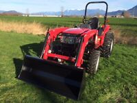 New 1526 Mitsubishi Tractor with Loader 5 year warranty
