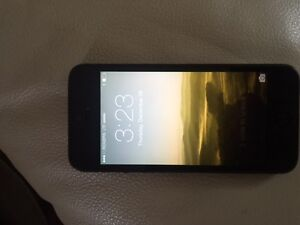Iphone 5 Black UNLOCKED Cambridge Kitchener Area image 1