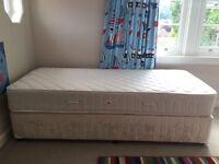 Single bed plus mattress