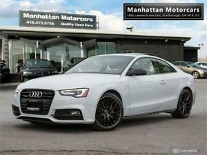 2015 AUDI A5 AWD PROGRESSIV PLUS S-LINE |NAV|CAMERA|ROOF|39KM