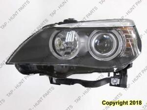 Head Lamp Driver Side Halogen High Quality BMW 5-Series (E60) 2008-2010