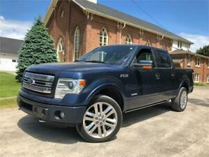 2014 Ford F-150 Limited - SUNROOF + LEATHER + FULLY LOADED!!!