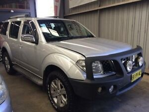 2006 Nissan Pathfinder R51 ST-L (4x4) Silver 5 Speed Automatic Wagon Macquarie Hills Lake Macquarie Area Preview
