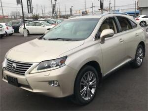 2013 LEXUS RX350 AWD, NAVIGATION, LEATHER, FREE OF ACCIDENTS