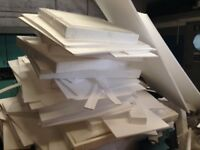 Free Polystyrene suitable for home or shed insulation or for packing AVAILABLE NOW