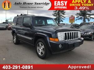 2010 Jeep Commander Sport LEATHER, NAVI, BCAM, SUNROOF,BLUETOOTH