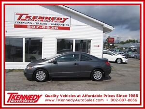 2010 Honda Civic Cpe DX/Automatic 0nly $7,988,00