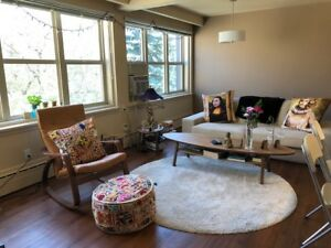 FREE RENT FOR JULY! 2 BDRM SUBLET IN BEAUTIFUL RIVER HEIGHTS