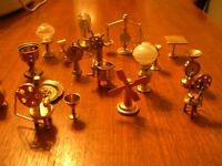 "Brass miniatures - ""hundreds of various types"""