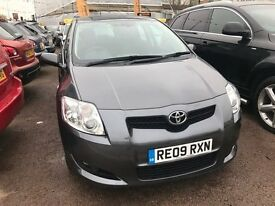 2009 Toyota Auris 1.6 T Spirit Multimode 5dr, AUTOMATIC, WARRANTY+BREAKDOWN COVER