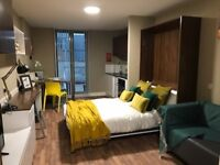 Stunning appointed brand new Studio flat. Fully furnished, Students, Professionals