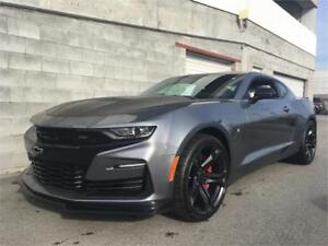 2019 Chevrolet Camaro SS 1LE V8 satin steel color 6speed NEW 2SS
