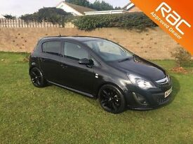 VAUXHALL CORSA 1.2 LIMITED EDITION 5d 83 BHP fully serviced by VA (black) 2014