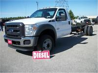 2013 Ford F-450 Cab & Chassis  Power Stroke Diesel