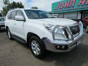 2015 Toyota Landcruiser Prado KDJ150R MY14 GXL White 5 Speed Sports Automatic Wagon Mount Gravatt Brisbane South East Preview