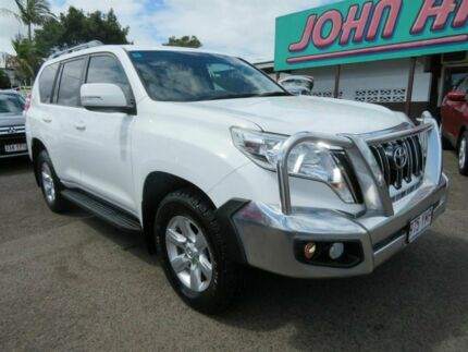 2015 Toyota Landcruiser Prado KDJ150R MY14 GXL White 5 Speed Sports Automatic Wagon Mount Gravatt Brisbane South East Preview