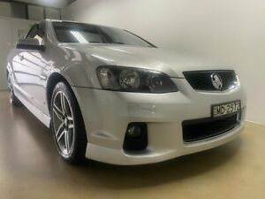 2011 Holden Commodore VE II SV6 Silver 6 Speed Manual Utility Phillip Woden Valley Preview