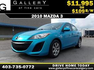 2010 Mazda3 GX i Sport $109 BI-WEEKLY APPLY NOW DRIVE NOW
