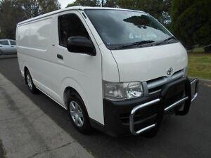 2005 Toyota Hiace White Automatic Van Preston Darebin Area Preview