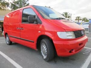 2002 Mercedes-Benz Vito 113 Red 4 Speed Automatic Van Southport Gold Coast City Preview